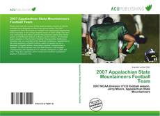 Bookcover of 2007 Appalachian State Mountaineers Football Team