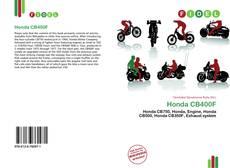 Bookcover of Honda CB400F