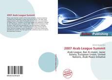 Capa do livro de 2007 Arab League Summit