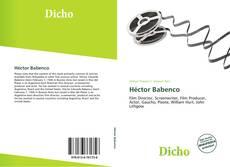 Copertina di Héctor Babenco