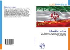 Bookcover of Education in Iran
