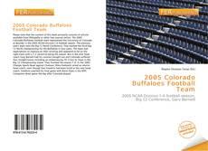 2005 Colorado Buffaloes Football Team的封面