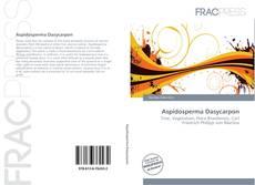 Buchcover von Aspidosperma Dasycarpon