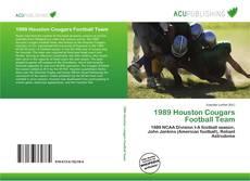 1989 Houston Cougars Football Team的封面