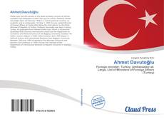 Bookcover of Ahmet Davutoğlu