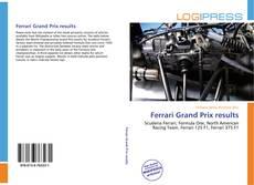 Bookcover of Ferrari Grand Prix results