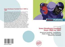 Couverture de Iowa Hawkeyes Football from 1889 to 1897