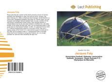 Capa do livro de Jacques Faty