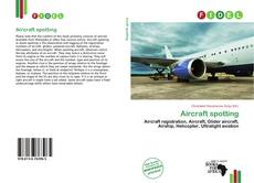Couverture de Aircraft spotting