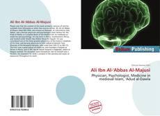 Bookcover of Ali Ibn Al-'Abbas Al-Majusi