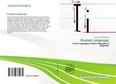 Buchcover von Kumyk Language