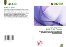 Bookcover of Ajith C. S. Perera