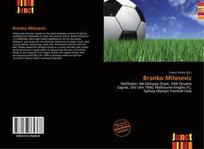 Portada del libro de Branko Milosevic