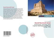 Portada del libro de David Hummell Greer