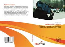 Bookcover of Marlene Lawston
