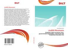Copertina di Judith Heumann