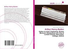 Couverture de Arthur Henry Bullen