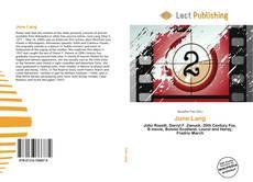 Bookcover of June Lang
