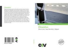 Buchcover von Chrysolius