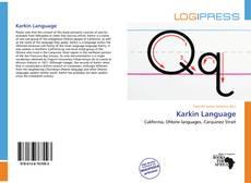 Karkin Language的封面