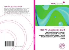Bookcover of 1976 NFL Expansion Draft