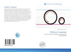 Bookcover of Belgian Language