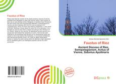 Bookcover of Faustus of Riez