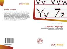 Bookcover of Chatino Language