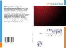 Borítókép a  E (Programming Language) - hoz