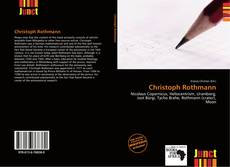 Bookcover of Christoph Rothmann