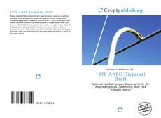 Bookcover of 1950 AAFC Dispersal Draft