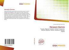 Heraean Games kitap kapağı