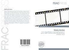 Bookcover of Marta Kristen