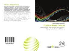 Bookcover of Chilkur Balaji Temple