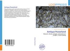 Antique Powerland kitap kapağı
