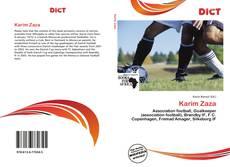 Bookcover of Karim Zaza