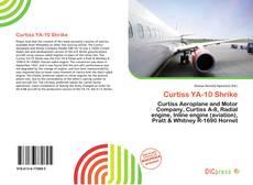 Bookcover of Curtiss YA-10 Shrike