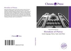 Bookcover of Herodion of Patras