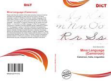 Buchcover von Mina Language (Cameroon)