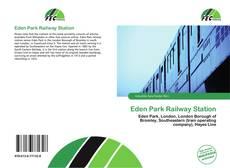 Обложка Eden Park Railway Station