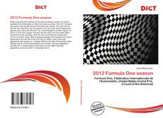 Capa do livro de 2012 Formula One season