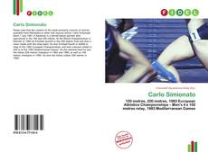 Portada del libro de Carlo Simionato