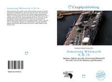 Portada del libro de Armstrong Whitworth A.W.16