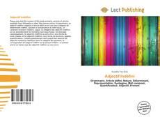 Buchcover von Adjectif Indéfini
