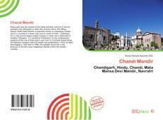 Portada del libro de Chandi Mandir