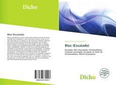 Bookcover of Bloc (Escalade)