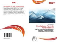 Bookcover of Escalade en Forêt de Fontainebleau
