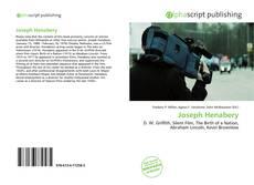 Buchcover von Joseph Henabery
