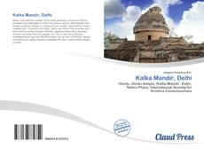 Portada del libro de Kalka Mandir, Delhi