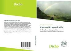 Bookcover of Cherkashin assault rifle